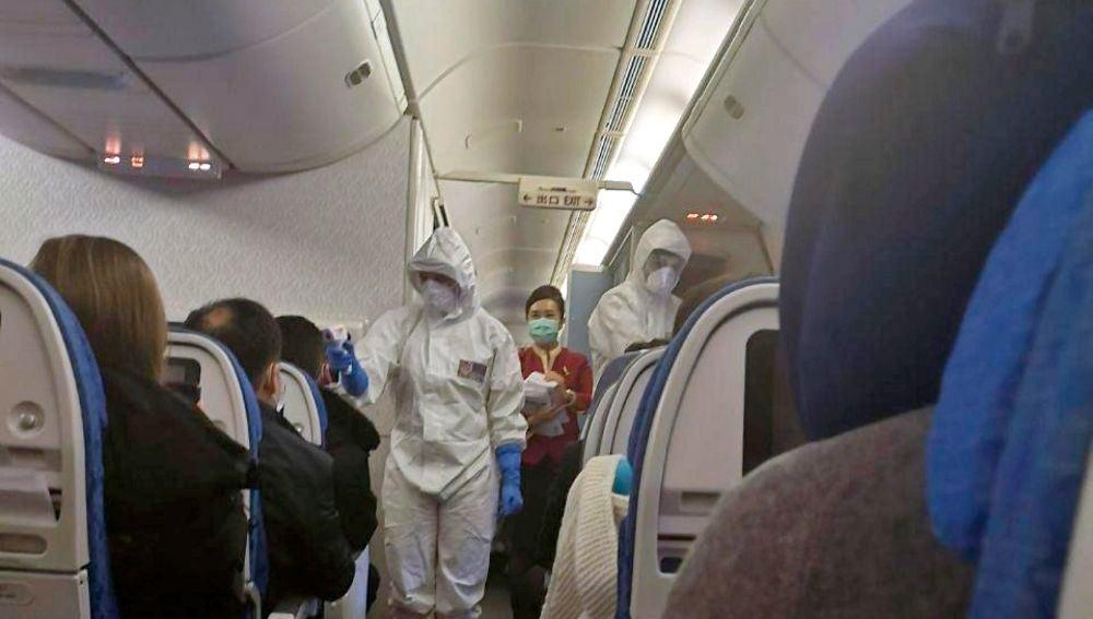 Coronavirus: controles de fiebre a los pasajeros en el aeropuerto de Milán