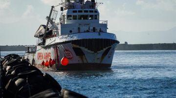 Open Arms solicita un puerto europeo para desembarcar a 363 migrantes