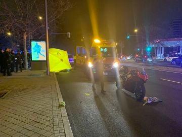 Atropello mortal a una niña de tres años en Madrid