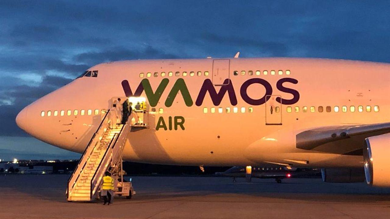 El avión que trasladó a los españoles desde Wuhan
