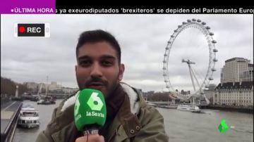 Dudas por el Brexit: así vive un turista español en Londres el adiós de Reino Unido a la Unión Europea