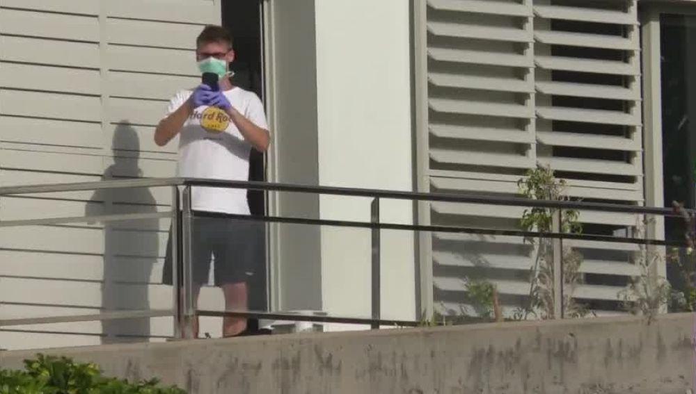 Un turista alemán aislado en la Gomera por el coronavirus