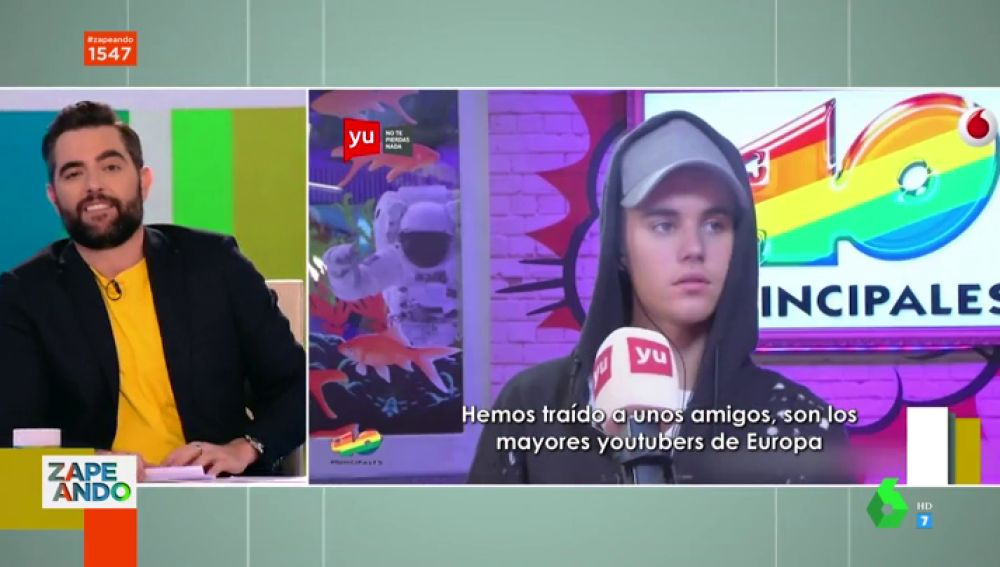 Dani Mateo y Justin Bieber