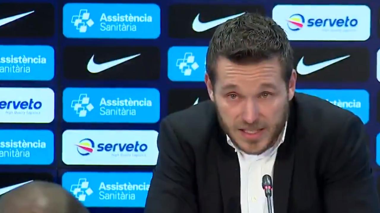 Víctor Tomás anuncia su retirada del balonmano
