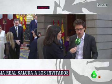 """Íñigo Errejón, sobre el discurso de Felipe VI: """"He echado en falta las cuestiones que afectan a los españoles en el día a día"""""""