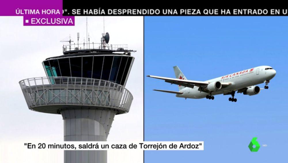El audio de la conversación entre el piloto del avión de Air Canada y la torre de control