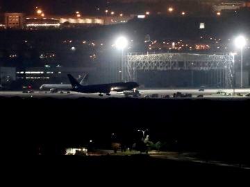 Aterrizaje en Barajas