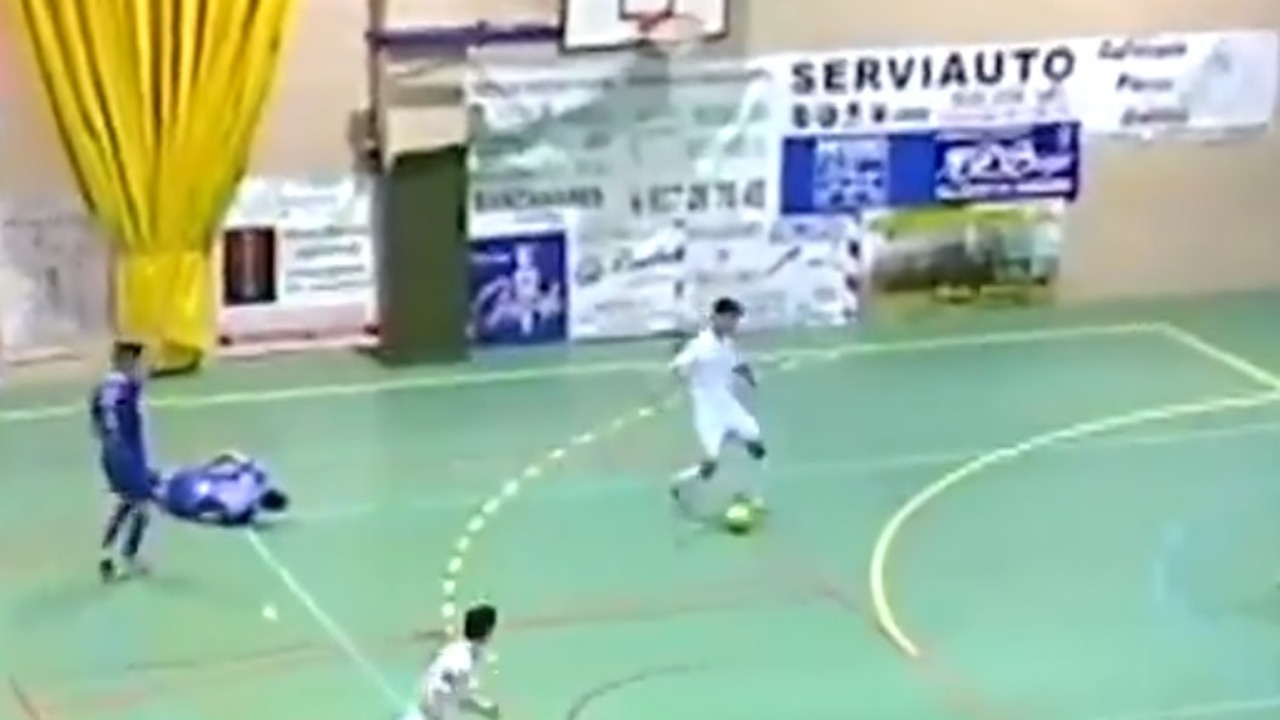 La jugada de Fair Play del Santiago Futsal