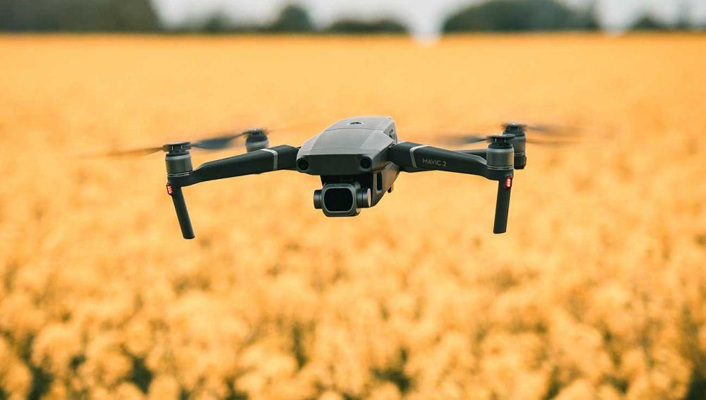 Un dron DJI