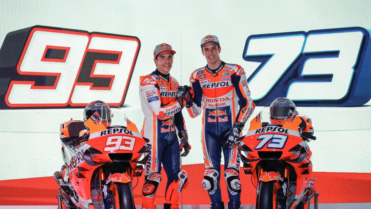 Marc y Álex Márquez, presentados con Honda para la temporada 2020