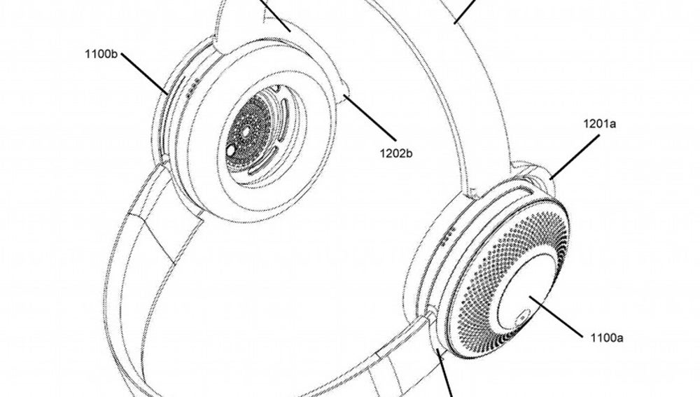 Patente de Dyson sobre unos auriculares purificadores de aire