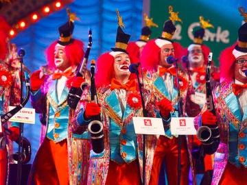 La murga Los Nietos de Kika en el Carnaval 2020 de Las Palmas de Gran Canaria