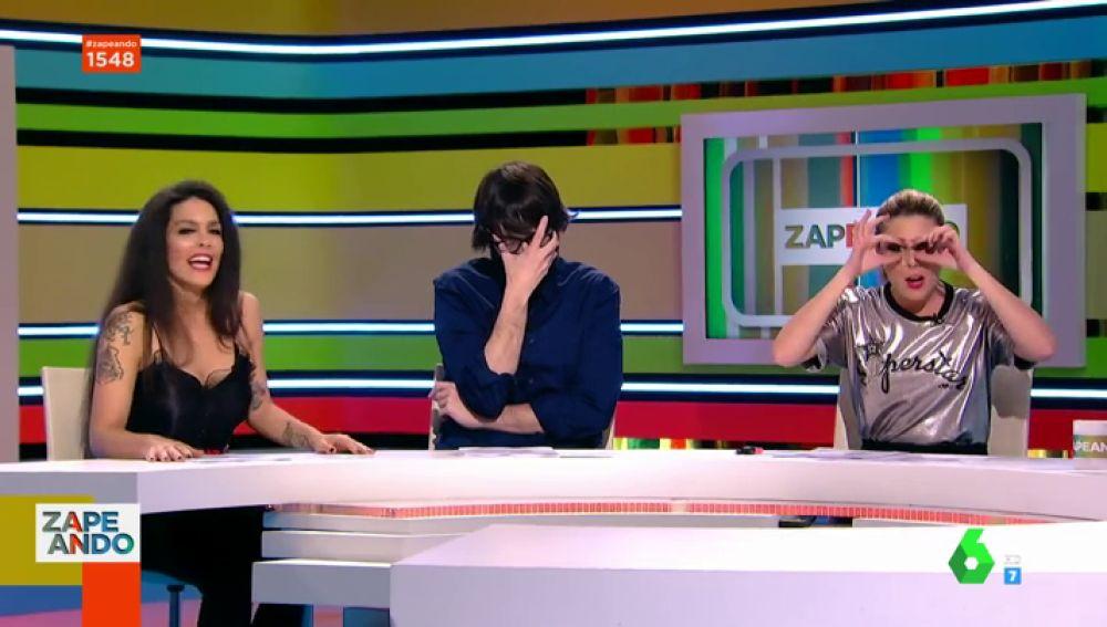 Lorena Castell, Quique Peinado y Valeria Ros