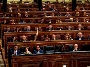 La bancada socialista en el Congreso de los Diputados