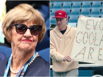 Margaret Court enfrentada a McEnroe y Navratilova
