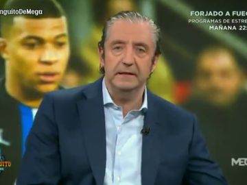 """Josep Pedrerol se pregunta por el precio de fichar a Mbappé para el Real Madrid: """"¿Venderías a Vinicius, Rodrygo, Asensio...?"""""""