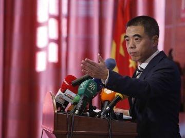 Yao Fei, encargado de Negocios de China en España