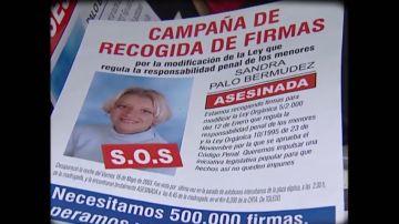 El crimen de Sandra Palo puso en tela de juicio la ley del menor en mayo de 2003