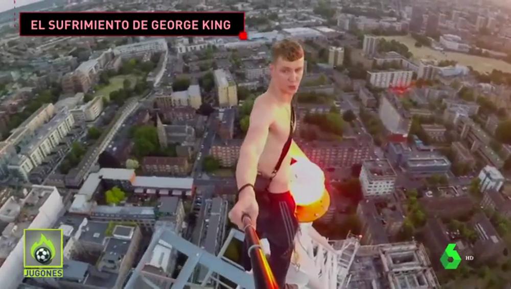 """El calvario de George King tras escalar The Shard y ser encarcelado: """"Me dijeron que alguien había sido asesinado"""""""