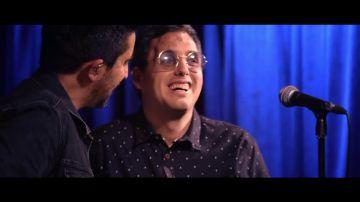 'Sin miedo a nada': así canta Eric encima del escenario junto a Álex Ubago