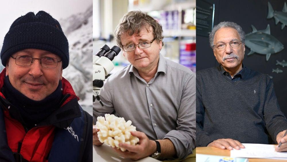 Tres ecologos ganan el premio FBBVA por sus conocimientos sobre los oceanos