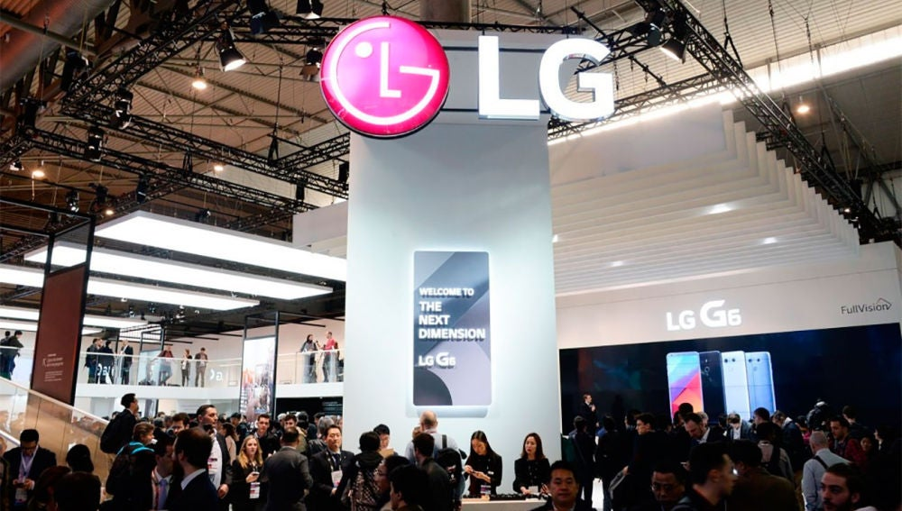 LG en el Mobile World Congress de 2017