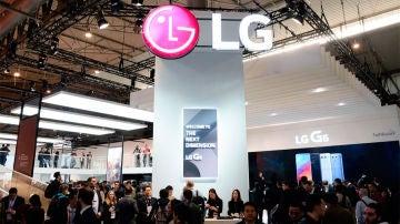 LG en el Mobile World Congress de 2017