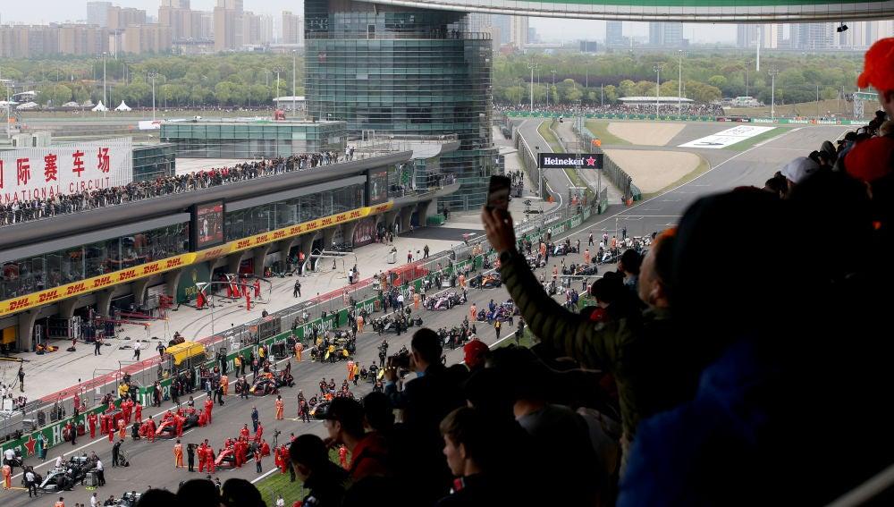 Suspendido el GP de China de Fórmula 1 por el coronavirus