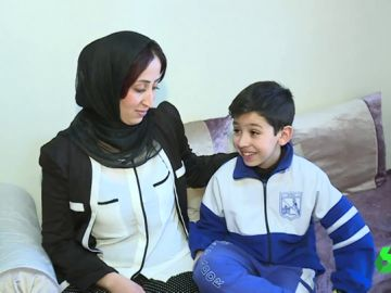 Mohamed, el niño que salvó la vida a su madre llamando al 112