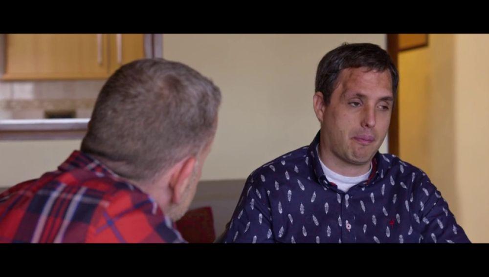 """El duro relato de Eric tras el accidente que le dejó ciego y con una discapacidad intelectual: """"Mis compañeros no me han venido ni a ver"""""""