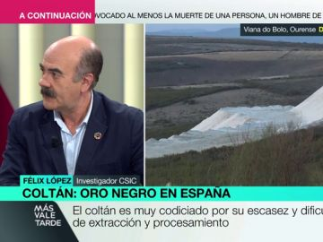 El investigador del CSIC Félix López explica qué supone para España haber descubierto la primera mina de 'oro negro' de Europa