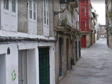 Calle Colón de Ourense, donde ocurrieron los hechos
