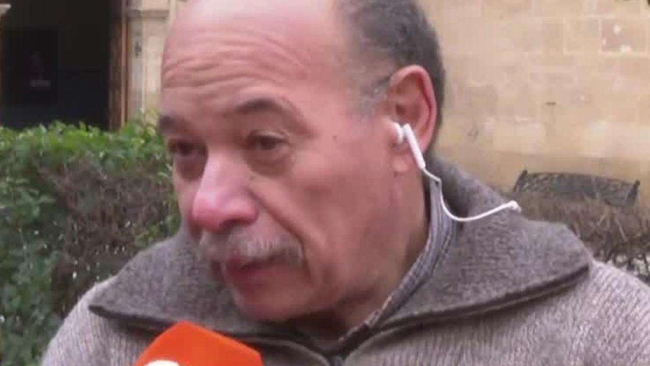 Ramón, abuelo de la niña muerta en Logroño
