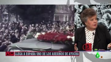 """Cristina Almeida recuerda a los abogados de Atocha: """"Yo tengo ese dolor de las víctimas, nunca se me ha pasado"""""""