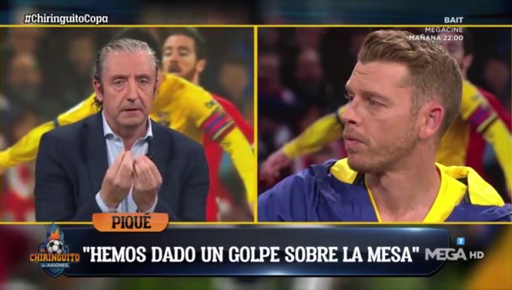 """Josep Pedrerol responde a Piqué: """"¡El Barça está haciendo el ridículo!"""""""