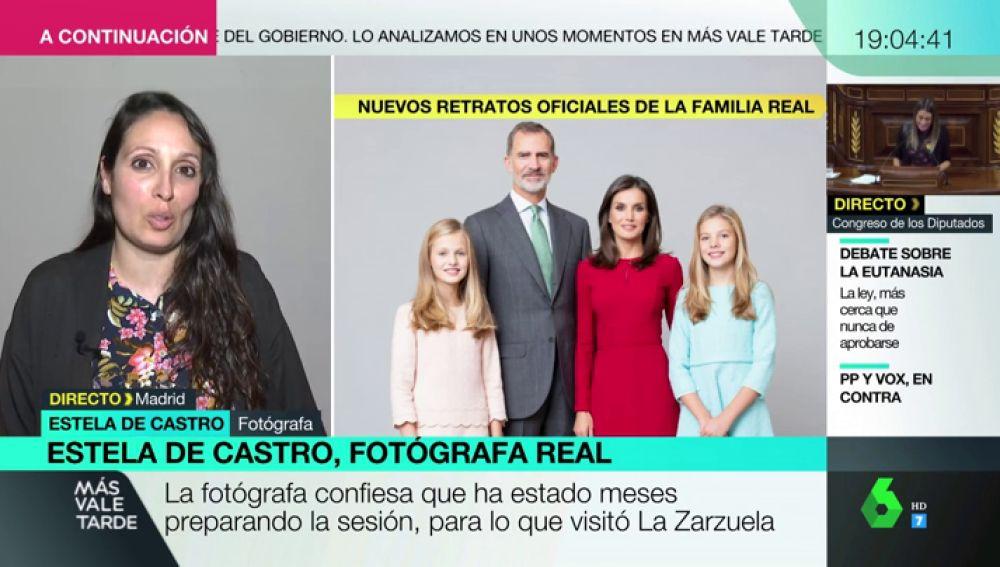 """Estela de Castro, fotógrafa de la Familia Real: """"Quería reflejar la cercanía que sientes cuando estas con ellos"""""""