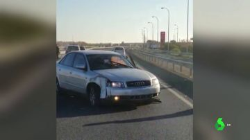Detenido tras protagonizar una espectacular persecución policial y chocarse contra los coches patrulla en Huelva