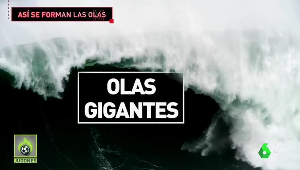 Nazaré y el motivo por el que sus olas son las más grandes del planeta