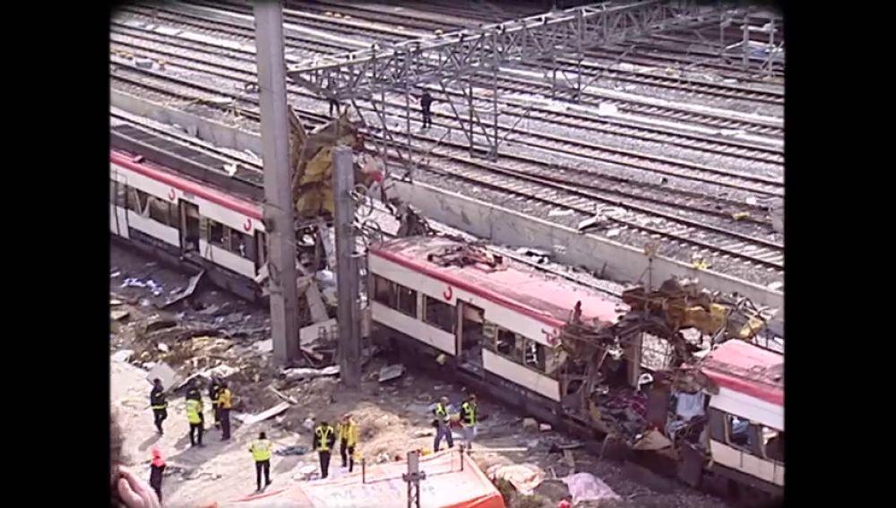 """Varias víctimas y testigos recuerdan el horror de los atentados del 11 de marzo: """"Sentí culpa durante mucho tiempo"""""""