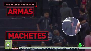 Los barras bravas siembran el terror en Mendoza: armas de fuego, cuchillos, palos...
