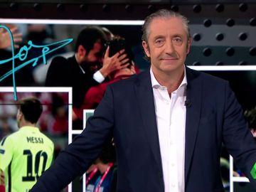 El editorial más viral de Pedrerol: ¿Os imagináis a Messi, Cristiano y Guardiola juntos en la Juventus?