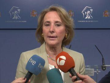 La portavoz de Igualdad de Vox en el Congreso, Lourdes Méndez
