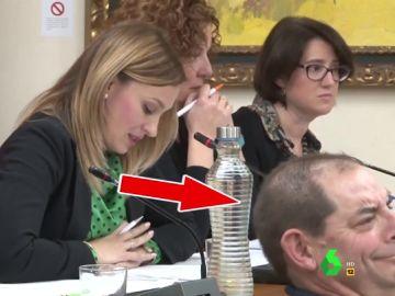 "La reacción de un concejal de IU al escuchar a una concejala de Vox afirmar que ""la libertad de cátedra es para los catedráticos"""