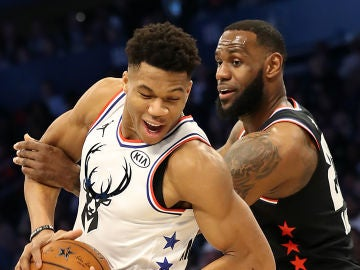 NBA All Star Game: Giannis vs LeBron