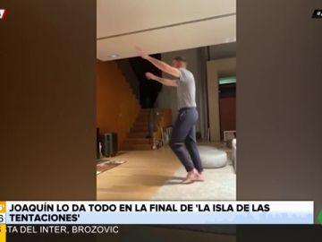 """Joaquín vive el final de 'La Isla de las Tentaciones' como nadie: """"¡Christofer vente pa' acá!"""""""