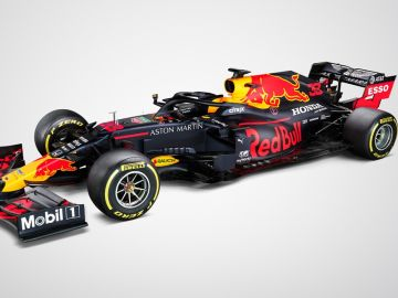 El nuevo Red Bull RB16 para la temporada 2020