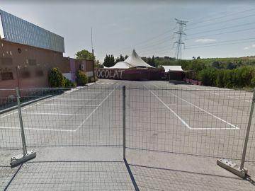 Alrededores de la discoteca 'LTN Club', donde se produjo la agresión homófoba