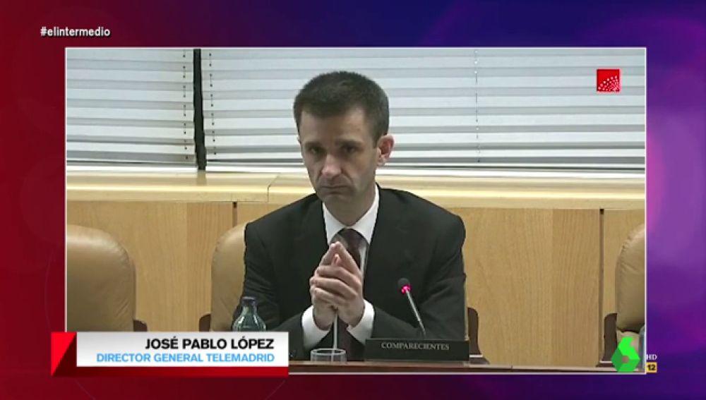 """La firme respuesta del director de Telemadrid a una diputada del PP que afirmó que debería ser más """"leal con el Gobierno para el que trabaja"""""""