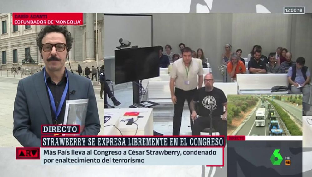 """Darío Adanti reivindica la """"plena libertad de expresión"""" y """"que traten a los ciudadanos como adultos"""""""