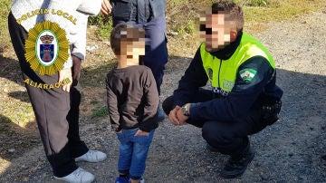 El menor encontrado en Aljaraque